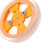 Оригинал 4шт 70 * 12мм Желтые износостойкие резиновые колеса для двигателя N20