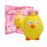 Оригинал Животные Squishy Chick Slow Rising With Packaging Collection Gift Soft Игрушка