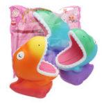 Оригинал Big Mouth Dinosaur Squishy 15 * 12.5 * 8.5CM Slow Rising Soft Коллекция подарков для подарков с упаковкой