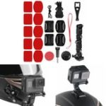 Оригинал Клей для шлема переднего держателя подбородка Набор Для Sjcam / Antshares / Gopro Hero 6 5 4 мотоцикл
