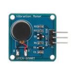 Оригинал Вибрация Мотор Модуль Mini Flat Vibrating DC Мотор для Arduino