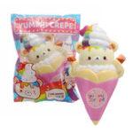 Оригинал Yummiibear Bear Squishy 14CM Огромный лицензионный медленный рост с упаковкой Jumbo Soft Toy