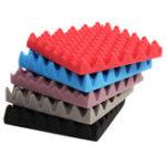 Оригинал 30x30x5cm Акустическая звукоизоляционная губка Sound Absorption Studio Foam Sponge