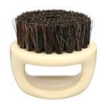 Оригинал Mens Boar Волосы Bristle Comb Борода Усы Щетка Овальная ручная уборка усов Щетка
