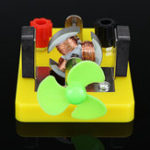 Оригинал DIY Electromagnetis Experiment Model DC Electric Circuit Direct-current Мотор Модель Science Toy
