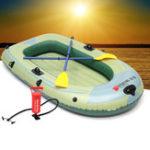 Оригинал НаоткрытомвоздухеСпорт2/3/4Личный ПВХ надувной Лодка Рыбалка Плоский катер на байдарках и каноэ