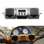 Оригинал Водонепроницаемы мотоцикл Bluetooth Динамик аудио Радио MP3 Sound System FM Stereo Gold / Sliver