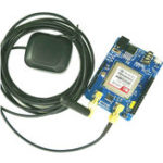 Оригинал 3G SIM530E GSM/GPRS 850/900/1800 / 1900MHz / WCDMA / 900 / 2100MHZ HSDPA SMS С 3M Active Антенна Щит для платы расширения Arduino