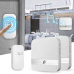 Оригинал Home House 4 Volume Wireless Doorbell Chime 2 Плагин Приемник с 1 передатчиком