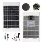 Оригинал 10W 12V Poly A-Class Солнечная Панель Батарея Зажим для крокодилов Зарядное устройство для C Авто Зарядное устройство