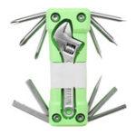 Оригинал 16 В 1 Многофункциональная складная комбинация Отвертка Рукав Инструмент Комплект с LED Ремонт Набор