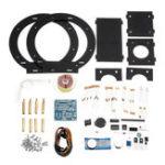 Оригинал DIY Up Pull Магнитная левитация Электронная подвеска Тип Магнитная подвеска Набор с черными стентами