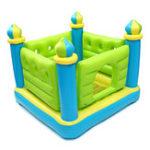 Оригинал Надувные игрушки Bounces House Castle Commercial Kids Family Indoor На открытом воздухе Игрушка 132 см * 132 см * 107 см
