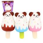 Оригинал Sanqi Elan Медведь мороженого Squishy 12 * 5.5CM Медленный рост Soft Коллекция подарков с подарками с упаковкой