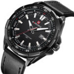 Оригинал NAVIFORCENF9056ДатаДисплейЛюминесцентныенаручные часы для мужчин