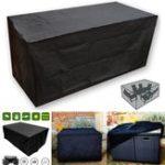 Оригинал OxbridgeBlack Водонепроницаемы Rattan Cube На открытом воздухе Сад Мебель для столовой мебели для патио