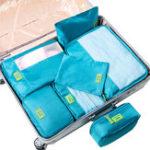 Оригинал 7PcsОдеждаНижнеебельеНоскиУпаковка Cube Хранение Сумка Путешествия Багаж Органайзер
