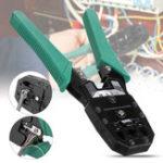 Оригинал RJ45 Сеть Ethernet LAN Инструмент Набор Сетевой кабель Обжимной клещевой стриппер