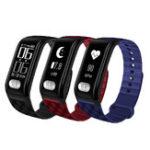 """Оригинал XANESH777plus0.96""""OLEDIP67 Водонепроницаемы Smart Bracelet Сердце Оценить артериальное давление ЭКГ (ЭКГ) Монитор SmartWatch"""