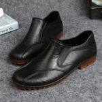 Оригинал МужчиныВскользьВодонепроницаемыКвартирыСкольжениена Soft Loafers