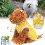 Оригинал Pet Футболка Собака Жилет Пальто Дышащий солнцезащитный крем Охлаждение Одежда Куртка Одежда