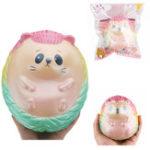 Оригинал 2PCS Огромный Hedgehog Squishy 20 * 17 * 15CM Коллекция подарков мультфильма Soft Игрушка с упаковкой
