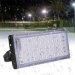 Оригинал 50W LED Flood Light Водонепроницаемы Work Spot Light Super Bright Security Лампа для Кемпинг Ежедневное освещение