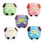 Оригинал 5 PCS Squishy Jumbo Sheep Lamb Package Sweet Soft Медленная растущая коллекция Подарочная игрушка для подарков