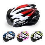 Оригинал BIKIGHTВелосипедныйшлемвелосипедасзадней подсветкой Дышащаяся вентиляция Сверхлегкий шок Доказательство Велоспорт Шлем MTB