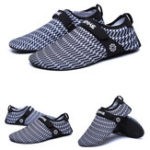 Оригинал ЖенскоеБыстросохнущийBreathableSwimSnorkelingПляжный Обувь босиком Slip-on Walking Hiking Shoes