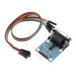 Оригинал RS232 Последовательный порт SP3232 для TTL RS232 для последовательного модуля TTL с Щетка линиями 3 В до 5,5 В