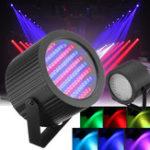 Оригинал 2шт 86 LED RGB Звук Active Сценический свет DMX DJ Disco Club Бар Стробоскоп