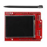 Оригинал 2.2 дюймов TFT LCD Дисплей Экран сенсорного экрана модуля Встроенный температурный датчик + ручка