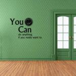 Оригинал HonanaКреативВыможетеДомашнийнаклейки с наклейкой на стене Съемный DIY Обои для комнаты Wall Decor