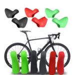 Оригинал BIKIGHTСиликоновыйВелосипедВелосипедШифтерОбложка Дорожный велосипед Сдвиг рычага переключения передач для 20-скоростной SR