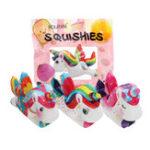 Оригинал IKUURANI Unicorn Squishy 10.5 * 8CM Cute Slow Rising Toy Decor Подарок с оригинальной упаковкой