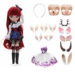 Оригинал BBGirl MengNa 35CM BJD Ball Joint Кукла Коллекция Подарочная игрушка Лицо для глаз Пояс Сменный под заказ