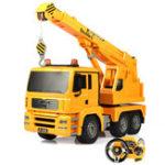 Оригинал ДвойнойEagleE526-0031/202.4GMercedes Rc Авто Инженерный грузовик W / Light Sound Демонстрационные игрушки