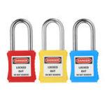 Оригинал 38mm Keylock-Alike Message Padlock Sets ABS Сталь Замок Пластиковая промышленность безопасности Padlock