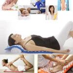 Оригинал BodyHeadFootМассажКостюмыАкупрессура Yoga Матовая подушка с подушкой для облегчения боли Акупунктура