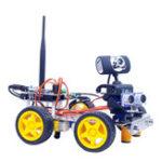 Оригинал Xiao R DIY GFS WiFi Управление видео Smart Robot Авто Набор для Arduino UNO