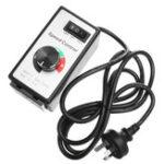 Оригинал 220V-240V 8A 125x65x60mm Variable Dial Router Мотор Контроллер скорости для ламп и вентиляторов