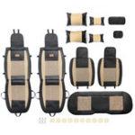 Оригинал 11PcsLeatherАвтоКомплектдлязащиты подушки для сателлитов Surround Seat Universal для 5 мест Авто