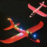 Оригинал 5PCS Светодиодный для Epp Hand Launch Throwing Plane Toy DIY Измененные детали Случайный цвет