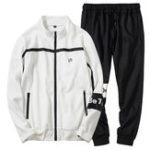 Оригинал МужскаявесенняяосеньCasualLooseZipper Sports Suit