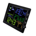 Оригинал TS-8210 Digital LCD Беспроводной профессиональный температурный тестер станции погоды Термометр Влажность Монитор