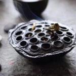 Оригинал Лотос из семенной кастрюли с горелкой из свежего сплава Тибет Yoga Медитация Home Censer Decor