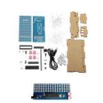 Оригинал 8 * 16 мм LED DIY Микрофонный контроллер Music Spectrum Дисплей Набор индикаторов уровня звука