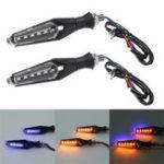 Оригинал 12V 2Pcs мотоцикл LED Светодиодные сигнальные огни ближнего света Направленные Лампа Индикаторы