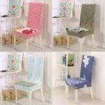 Оригинал Чехлыдлястульевдлядомашниххозяйств Эластичные подушки для защиты от обрастания крышкой 3 цвета Крышки Chioce Chairs